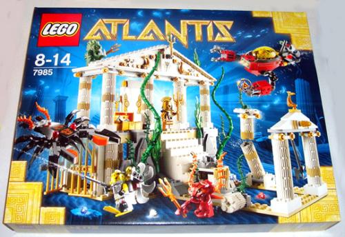 City Of Atlantis (7985) - Lego Atlantis Set (Rare & Discontinued)