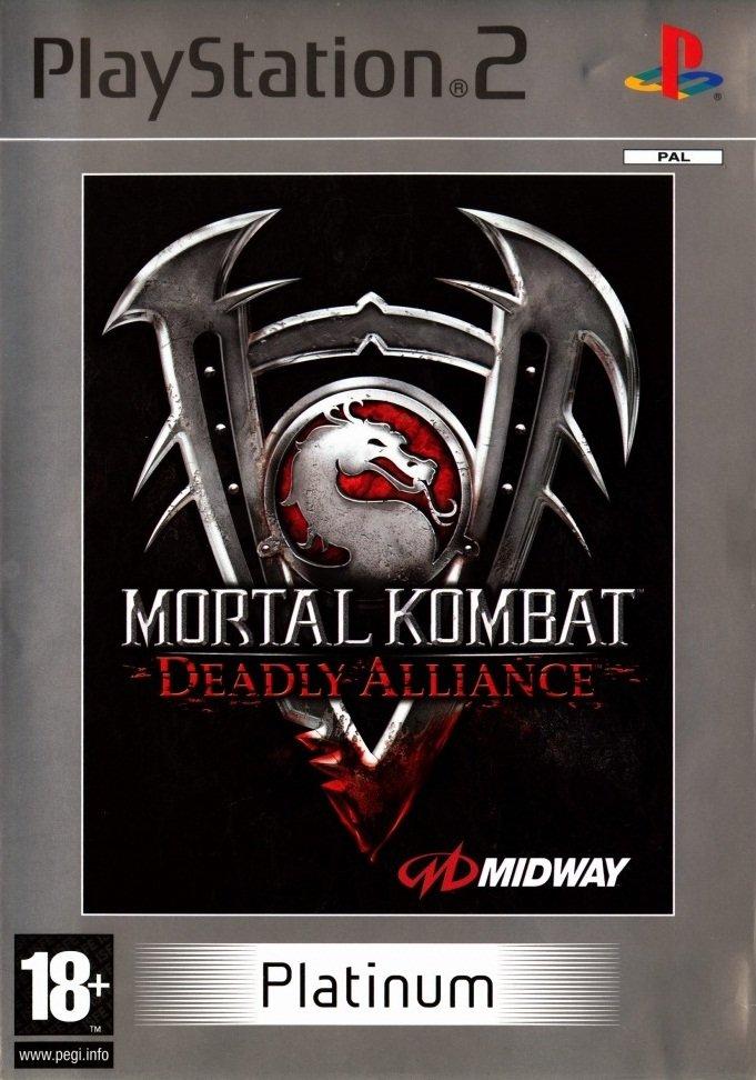PS2 MORTAL KOMBAT DEADLY ALLIANCE PLATINUM / AS NEW / BID TO WIN