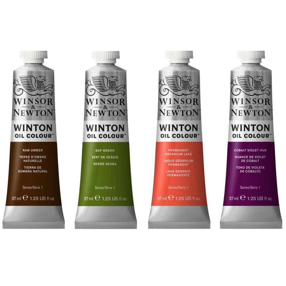 Oils acrylic watercolour paints winton oil paint for Oil paint price