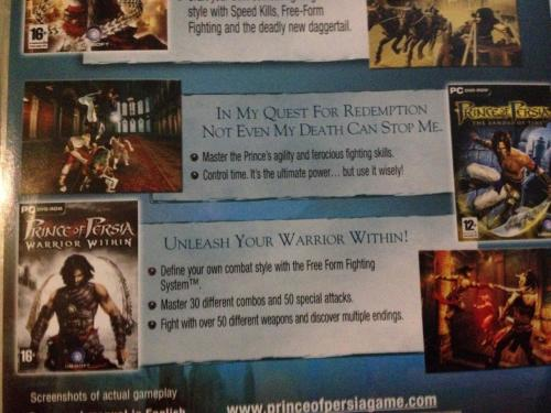 Games - PC - Prince of Persia - Trilogy was listed for R60