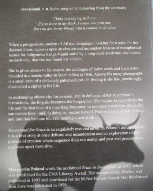 General Fiction - Recessional For Grace - Marguerite Poland - Large
