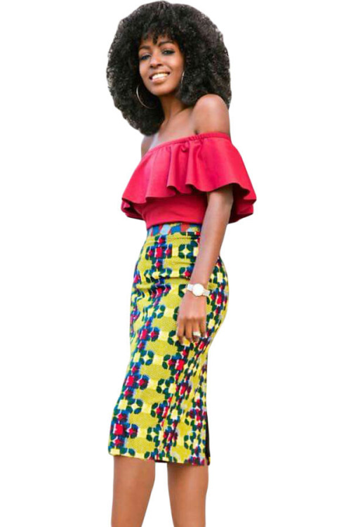 skirts african fashion print midi skirt s m l was listed for on 31 jan at 14 03 by. Black Bedroom Furniture Sets. Home Design Ideas