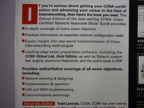 Computers & Internet - CCNA Study Guide : Exam 640-801 - Deluxe