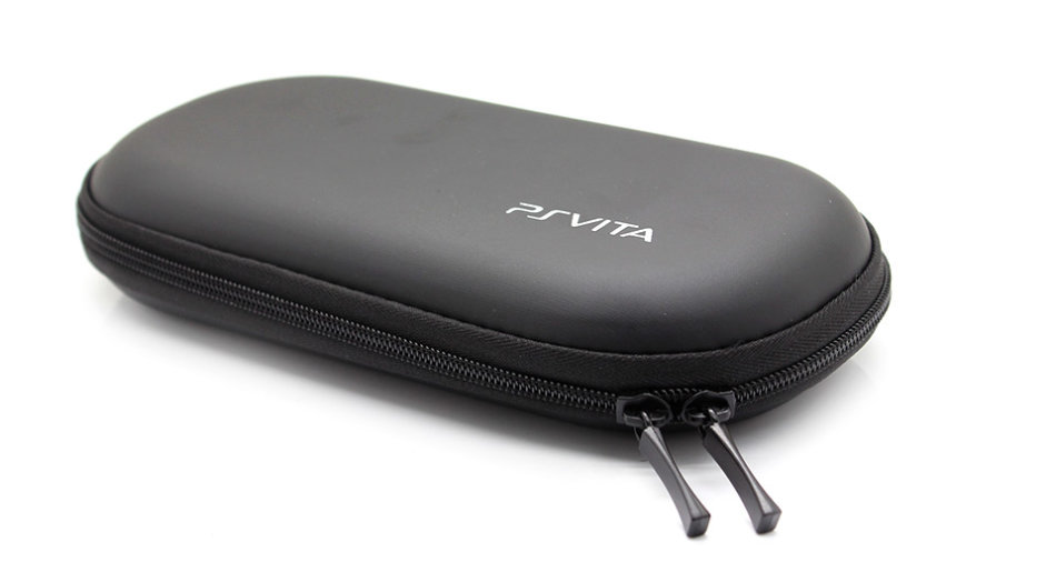PSVITA CRYSTAL BLACK CONSOLE MODEL PCH-1004 WITH CHARGER & 2 GAMES BUNDLE /  BID TO WIN