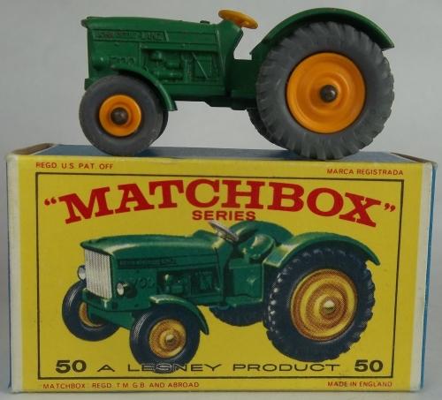 John Deere Matchbox Tractor : Models matchbox lesney series regular wheels