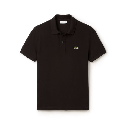 T shirts free courier lacoste mens polo golf t shirt for Black golf polo shirt