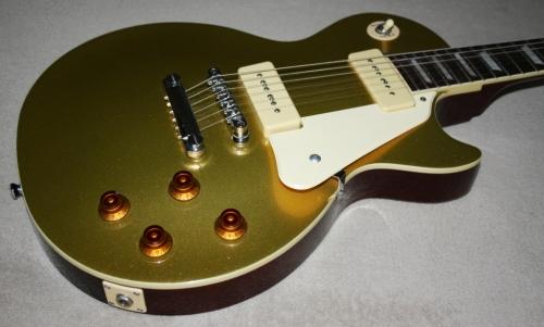 electric epiphone gibson les paul 39 56 gold top electric guitar p90 pickups original. Black Bedroom Furniture Sets. Home Design Ideas