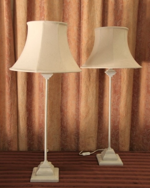 Lamps Amp Lanterns Two Beautiful And Elegant Quot Tall