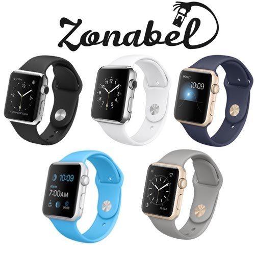 9dafa0f587c Smart Watch Accessories - Apple Watch Straps by Zonabel (42mm   38mm ...