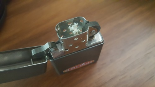 Lighters - Original 1996 Winston Cigarettes Black Finish Zippo