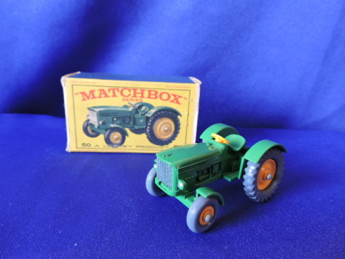 John Deere Matchbox Tractor : Collectable cars matchbox lesney series john deere