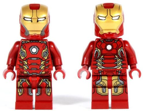 LEGO Minifigures - Iron Man Combo (Mark 43 & 45 Armor ...