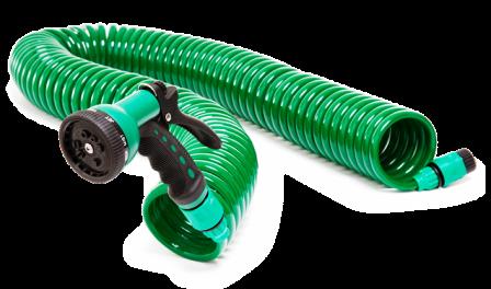coil garden hose. Tevo Slinky Coil Garden Hose - 15M