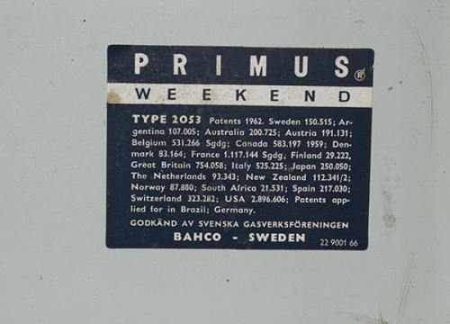 Other Antiques & Collectables - Vintage Primus Camping Stove was