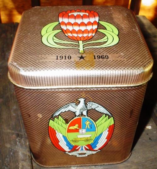 Antique Brooke Bond Tea & Coffee Cocommemoration Tin South Africa 1910-1960  item 2