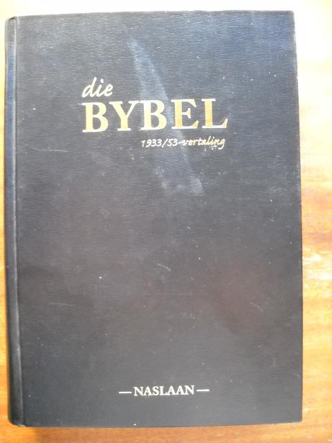AFRIKAANS BIBLE / DIE BYBEL / vertaling (met herformulerings)