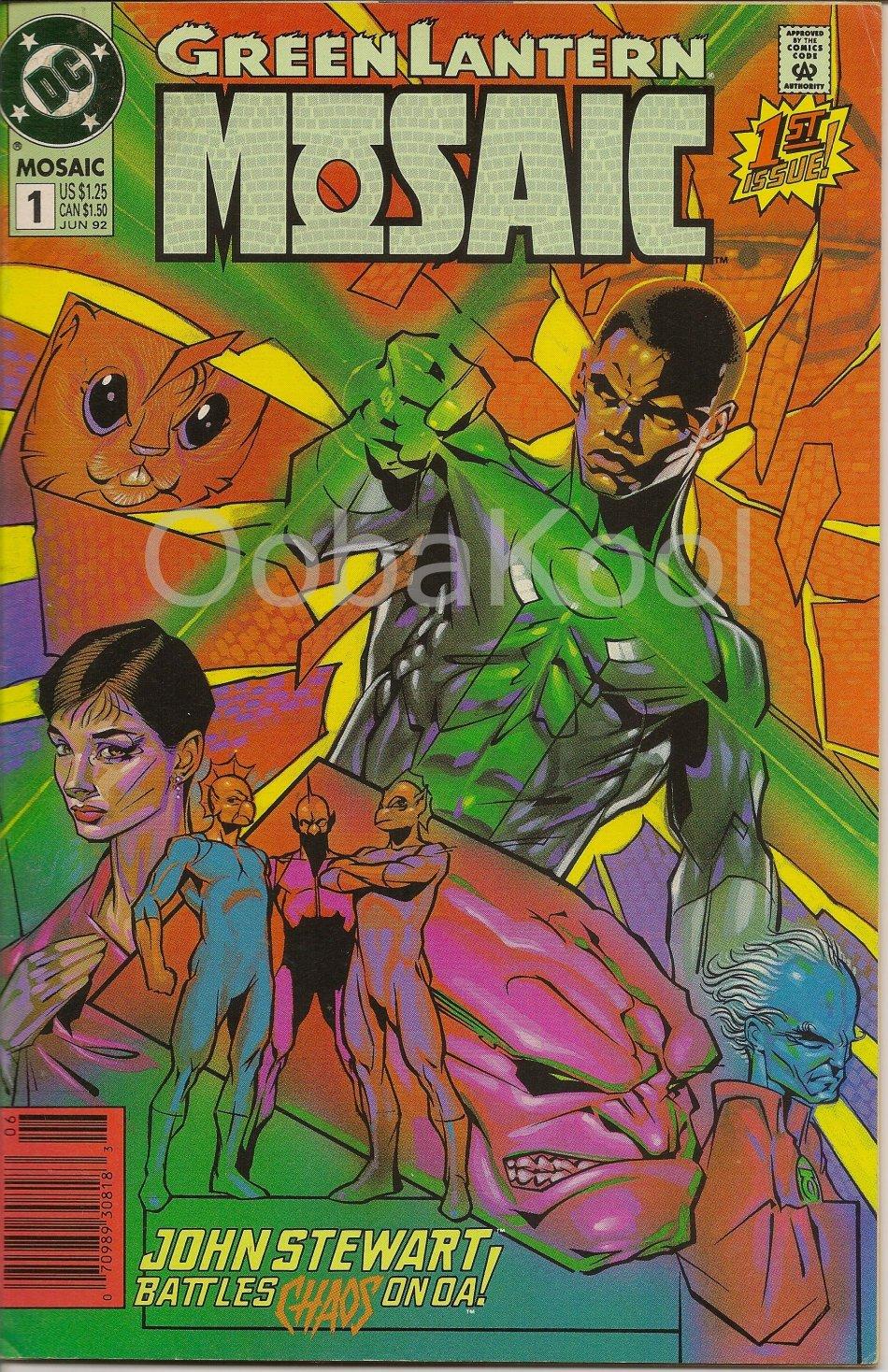 John persons comics for sale - Super Sale Green Lantern John Steward Battles Chaos On Oa Dc Comics 1 June 1992 Oobakool