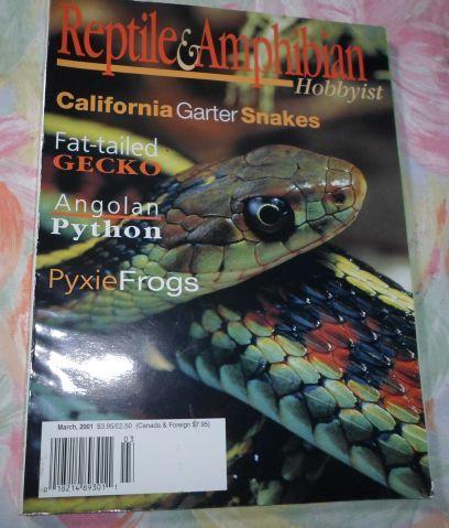 Pets Amp Animal Care Reptile Amp Amphibian Hobbyist Magazine