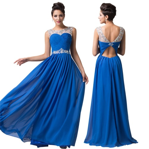 Formal dresses style collection blue red yellow for Wedding dresses for cruise ship