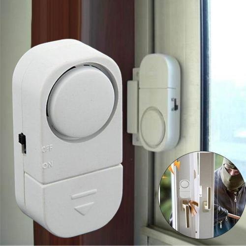 Alarm Systems Security Alarm System Wireless Home Door