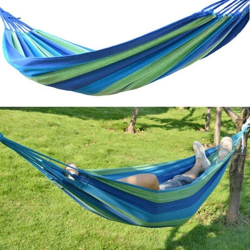 Other garden hand tools equipment portable cotton rope for Fabric hammock chair swing