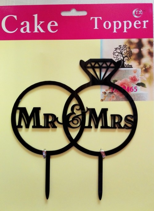 Personalsied Cake Toppers