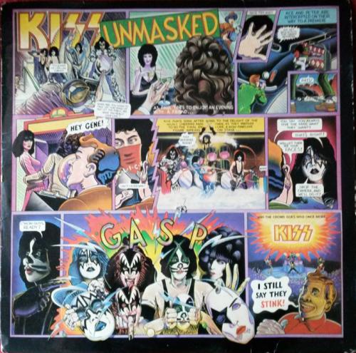 Classic Rock Kiss Unmasked 1980 Vinyl Lp Sa Was Sold
