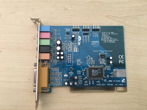 cmi8738 c3dx pci audio device