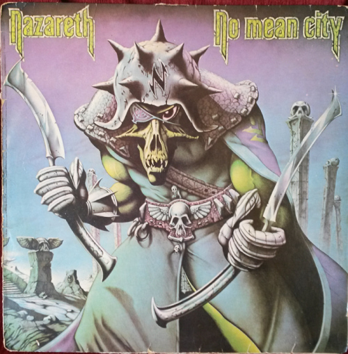 Classic Rock Nazareth No Mean City 1979 Vinyl Lp Sa