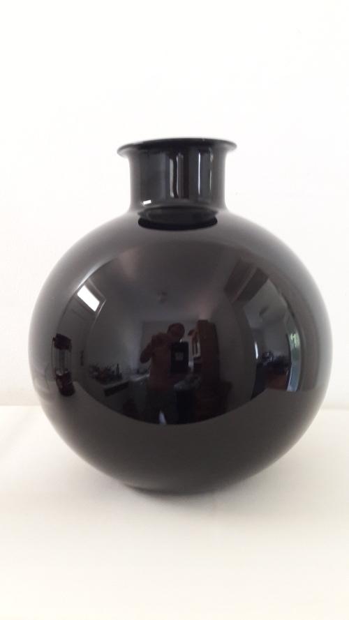 Rare large Dartington Volterra vase design by Frank Thrower 1978