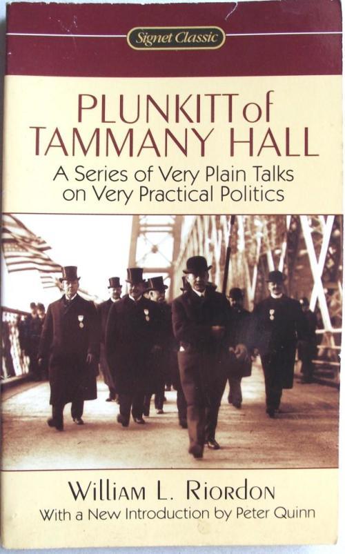 book report of plunkitt of tammany hall