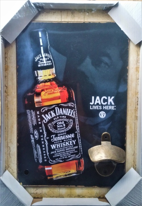 bottle openers jack daniels wall mounted bottle opener perfect addition for the bar was. Black Bedroom Furniture Sets. Home Design Ideas