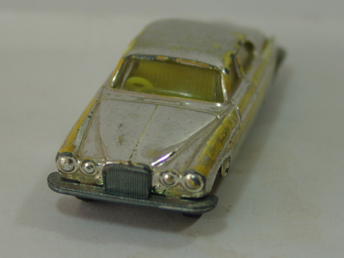 models - husky, jaguar mk10 chromed collectable scale model car