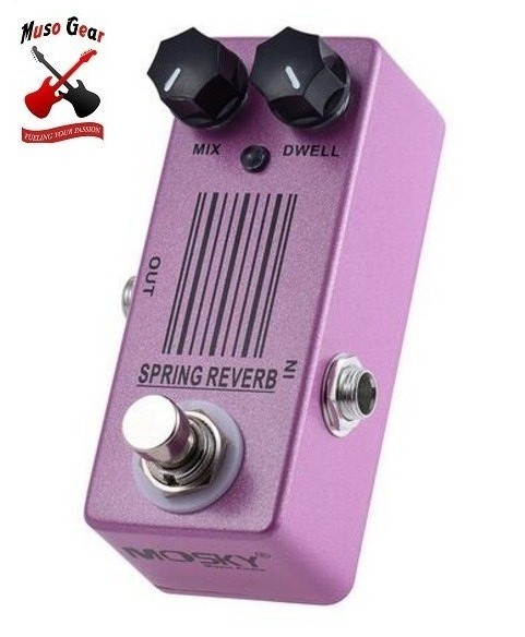 guitar effects mini spring reverb guitar effect pedal true bypass special easter. Black Bedroom Furniture Sets. Home Design Ideas