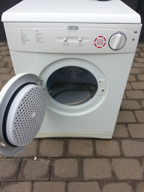 Defy Tumble Dryer ~ Washing machines dryers defy tumble dryer was sold for