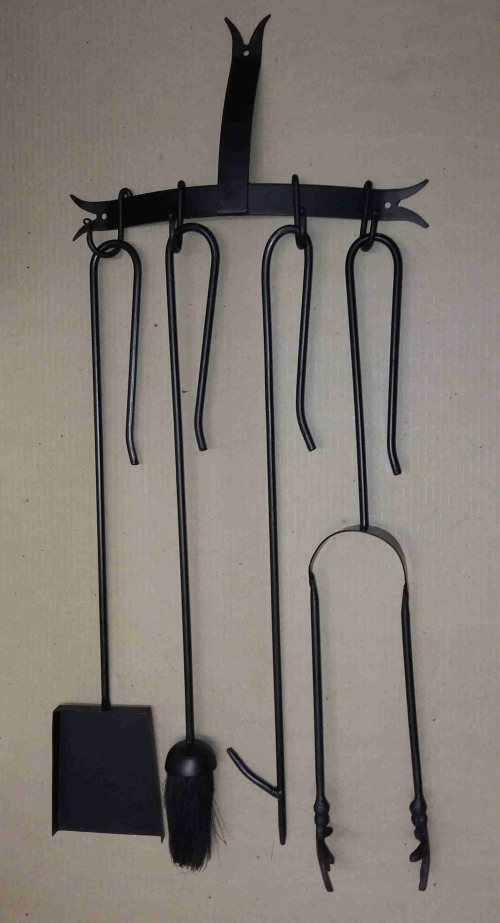 Fireplaces Accessories Fireplace Companion Tool Set Wall Mounted 5 Pieces Fp2 Was Listed For