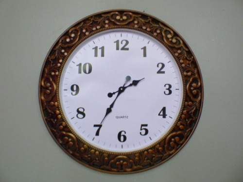Clocks An Awesome Large Battery Operated Wall Clock