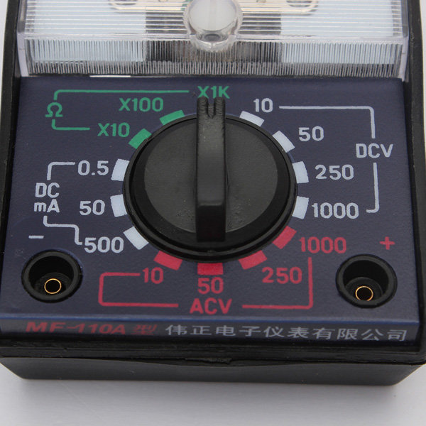 Test Equipment - MF-110A Electric AC/DC OHM Voltmeter
