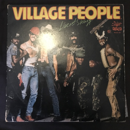 Electronica Village People Live And Sleazy Lp Vinyl