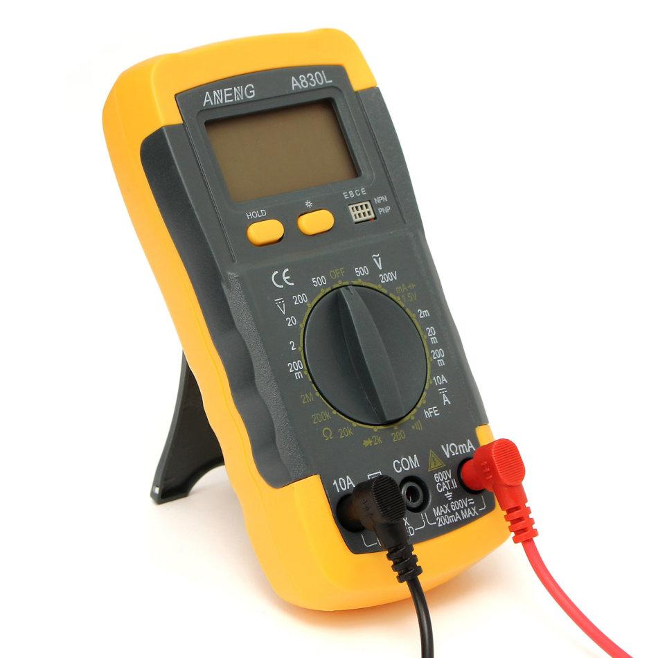 Test equipment lcd digital multimeter voltmeter ac dc for Gartenpool 10 meter