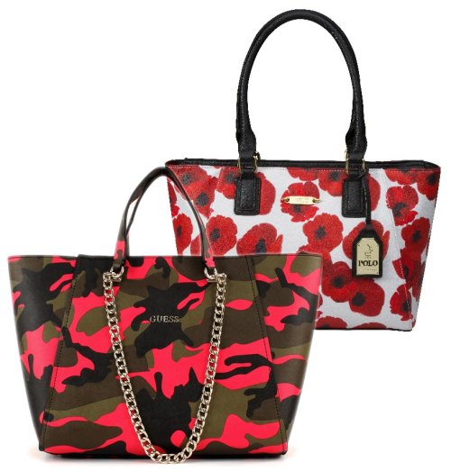 Handbags & Bags - Ladies' Designer Handbags | Polo, Guess & More ...