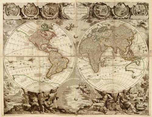 Jigsaw puzzles schmidt puzzle of the world antique map was listed schmidt puzzle of the world antique map gumiabroncs Choice Image
