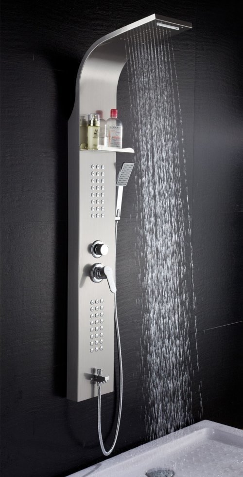 Merveilleux Lifestyle 5 Function Rainfall Waterfall Shower Panel
