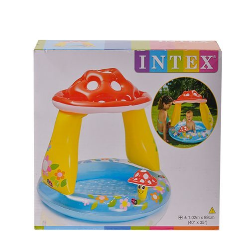 Swimming Pools Intex Mushroom Shaded Baby Pool 102x89cm