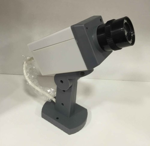 Surveillance Cameras Confused Dummy Led Flash Camera Was