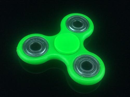 3 LED Light Hand Spinner Fidget Tri-Spinner Finger Gyro EDC Desk  Adult