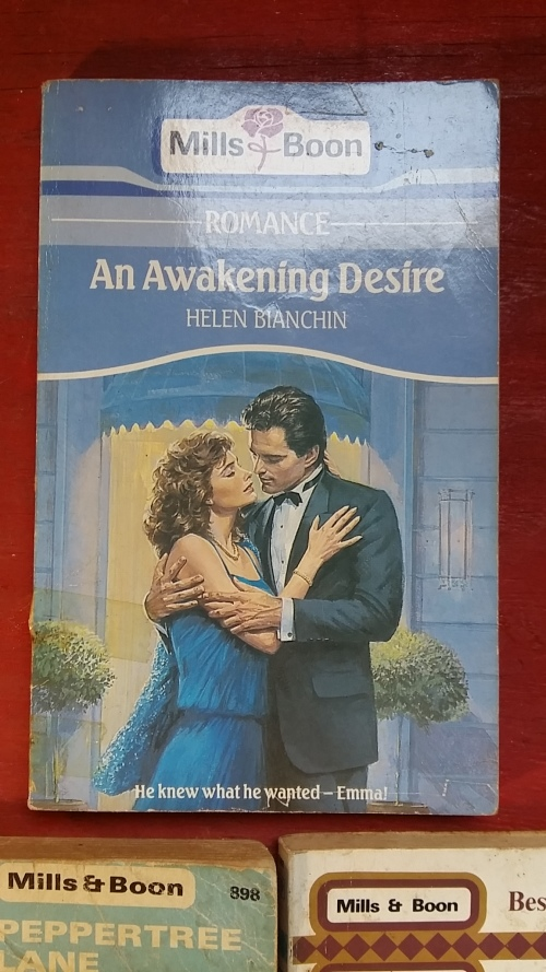 Romance Fiction - MILLS AND BOON : SET OF 5 MIXED AUTHORS ROMANCE