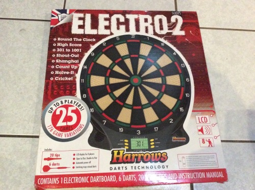Darts Electro 2 Electronic Dart Board And Darts Was Sold For R250