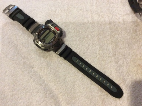 Rare collectible watches casio sea pathfinder thermo scanner was sold for r1 on 13 for Thermo scanner watch