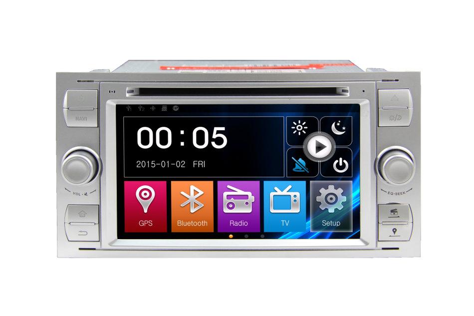 car radios silver ford 7 inch autoradio gps was listed. Black Bedroom Furniture Sets. Home Design Ideas